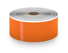 gp 2 inch orange label tape