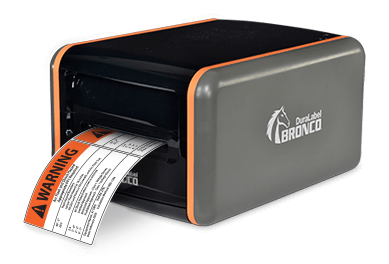 gp bronco arc flash label printer