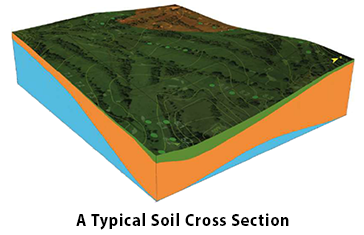 A Typical Soil Cross Section