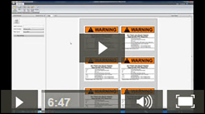 arc flash policy template - easypower electrical software videos arc flash label